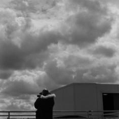 Benji on the roof of Hanover flats | Photo: Jepoy Sotomayor