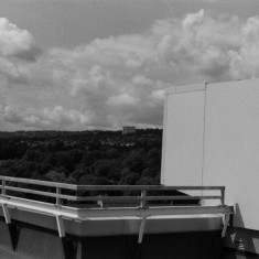 Fulwood and beyond from the Hanover Flats roof. August 2014 | Photo: Jepoy Sotomayor