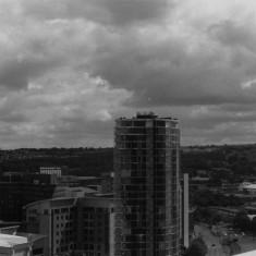 Velocity Tower from the Hanover Flats. August 2014 | Photo: Jepoy Sotomayor