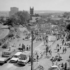 Aerial view of Broomhall Carnival, 1982 | Photo: Adrian Wynn