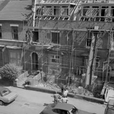 Building work Havelock St. 1982 | Photo: Adrian Wynn