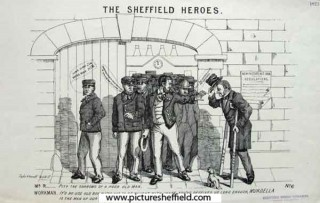 Sheffield Heroes. 1868 | Photo: SALS