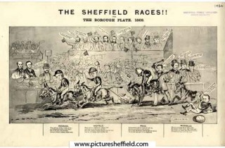 Sheffield Races. 1868 | Photo: SALS