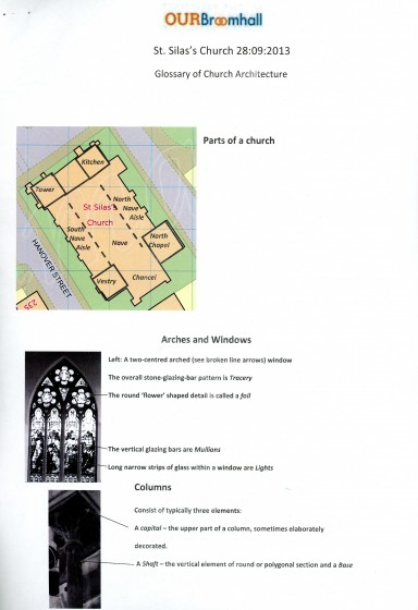 Glossary of Church Architecture | Photo: Our Broomhall