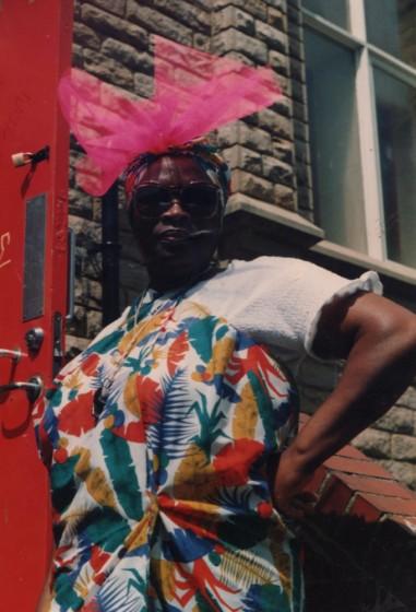 Mavis Hamilton. 1980s | Photo: Mavis Hamilton