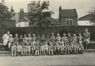 Class Photo, c1940s | Photo: Broomhall Nursery
