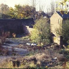 Wasteground, possibly near Lynwood Gardens. c.1988 | Photo: Broomhall Centre