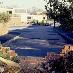 Gloucester Crescent; approach to Lynwood Gardens, c.1988 | Photo: Broomhall Centre