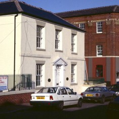 Buildings on Broomhall St, c.1988 | Photo: Broomhall Centre