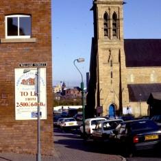 St Silas Church and Broomhall St, c.1988 | Photo: Broomhall Centre