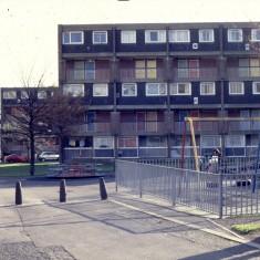 Flats, c.1988 | Photo: Broomhall Centre