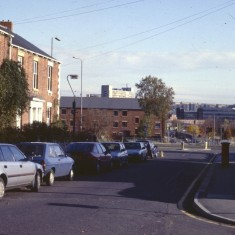 Bottom of Broomspring Lane, c.1988 | Photo: Broomhall Centre