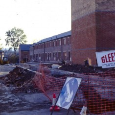 New homes under construction, c.1988 | Photo: Broomhall Centre
