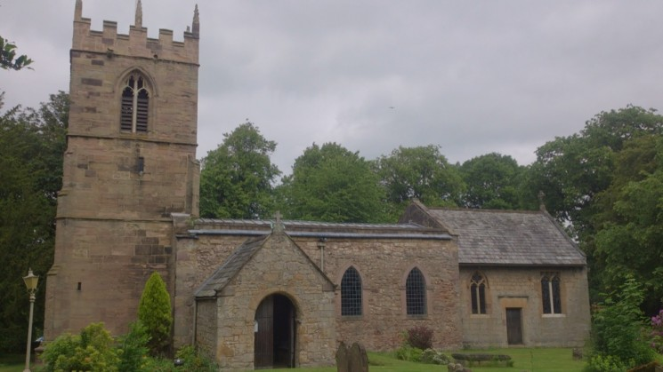 Todwich church in Todwick Village. In the church yard the funeral of Mr Broomhead was held in the afternoon on 19 December, 1893. | Photo: Our Broomhall