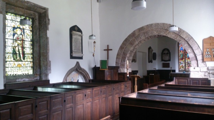 The inside of Todwick church. 2015 | Photo: Our Broomhall