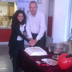 Our Broomhall Heritage open day event. Paul Blomfield and Nivrrithi Chhabria at Book Launch. 2015   Photo: Chris Richardson