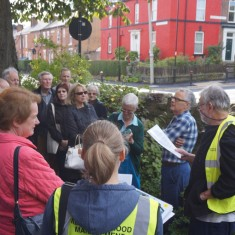 Our Broomhall Heritage open day event, Heritage Walk. 2015 | Photo: May Seo