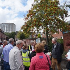Our Broomhall Heritage open day event, Heritage Walk. 2015   Photo: May Seo