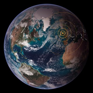 The world is visiting Broomhall via this website   Photo: NASA