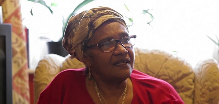Joy Sulf-Johnson: social welfare activist interviewed